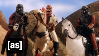 Planet Of The Apes: Extended Ending | Robot Chicken | Adult Swim
