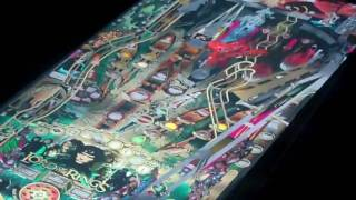 Visual Pinball Cabinet Playing Lord Of The Rings