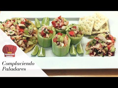 Ensalada de Jaiba Saludable y Deliciosa | Crab imitation Salad
