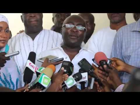 Dr. Mahamadu Bawumia's acceptance speech after being named Nana Addo's running mate