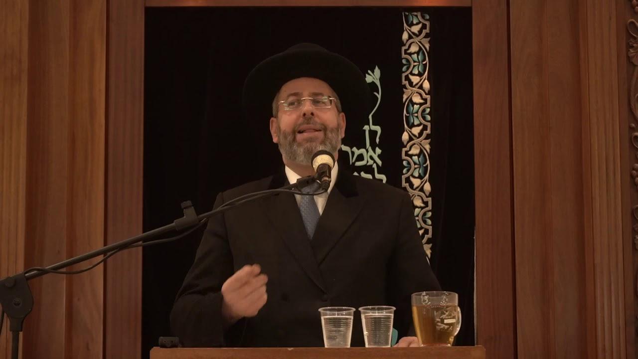"""שיעור כללי מפי הרב הראשי לישראל,הרב דוד לאו שליט""""א"""
