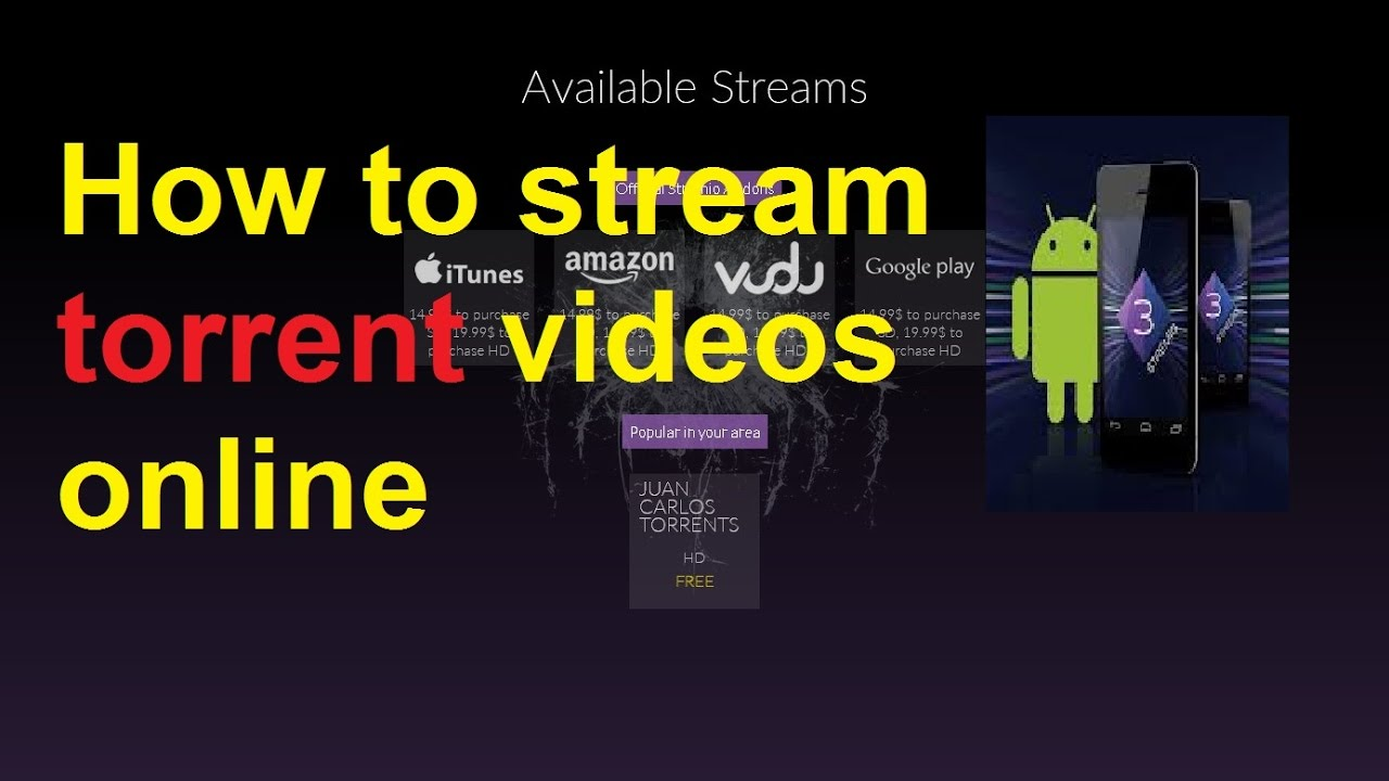 Hindi How To Stream Torrent On Mobile  Stremio Free App -2510