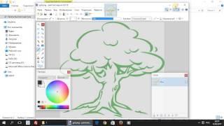 Paint.net. Урок 5 - Как сделать рисунок с прозрачным фоном.