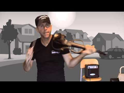 Plug 'n Play Violin and Amp Review