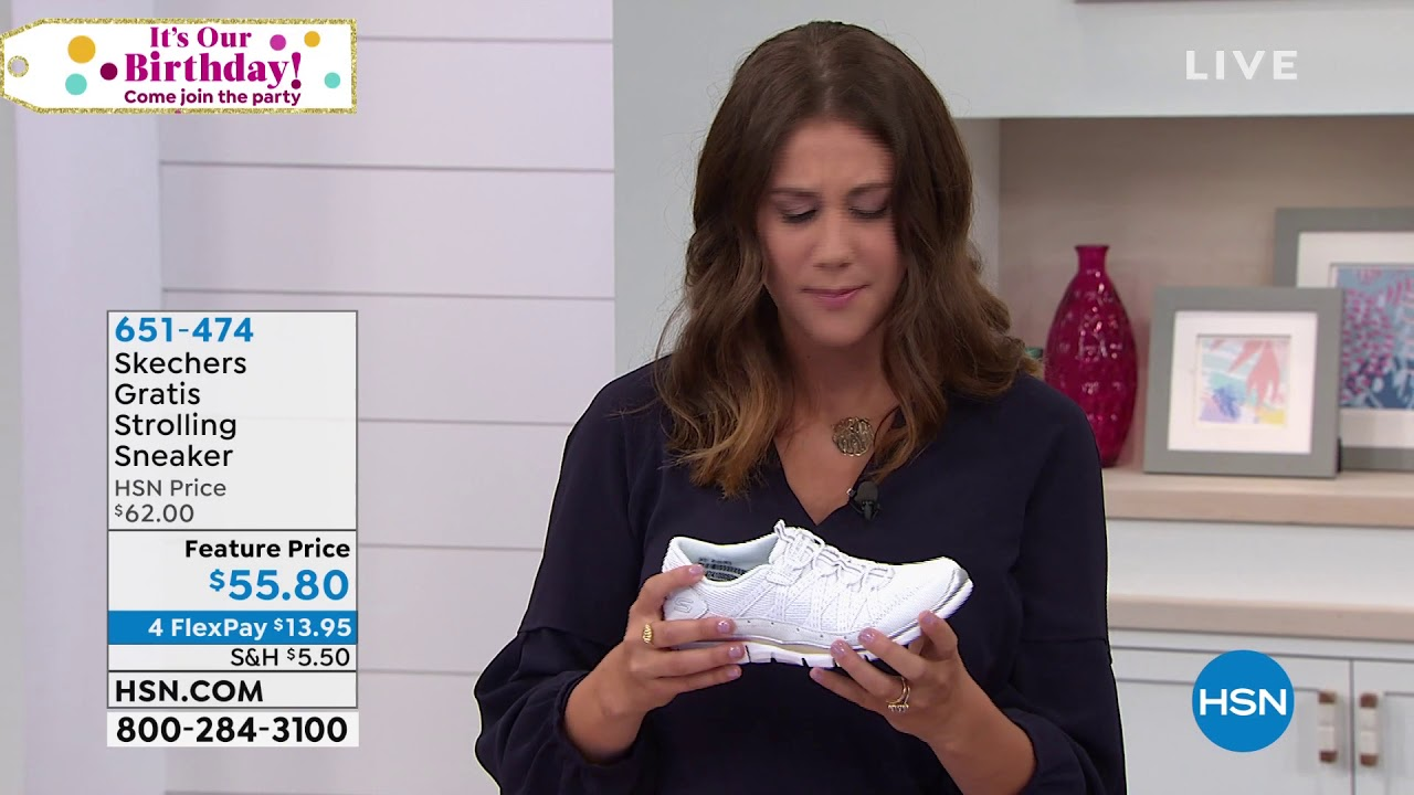 Skechers Gratis Strolling Sneaker - YouTube