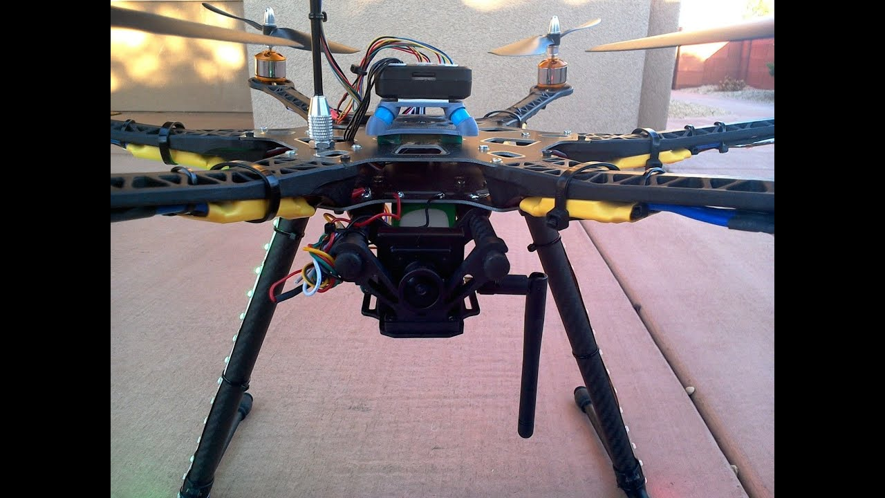F550 HEXACOPTER DRONE