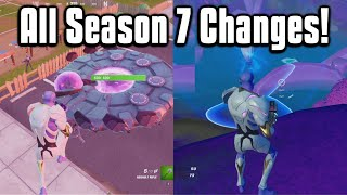 Everything New In Fortnite Chapter 2 Season 7! - Battle Pass, Map, Weapons & More!