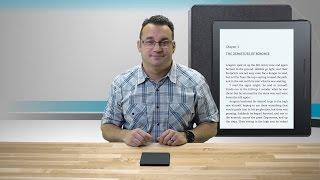 Amazon Kindle Oasis E-reader Thoughts