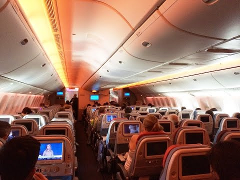 Turkish Airlines Boeing 777-300ER Economy Class Review