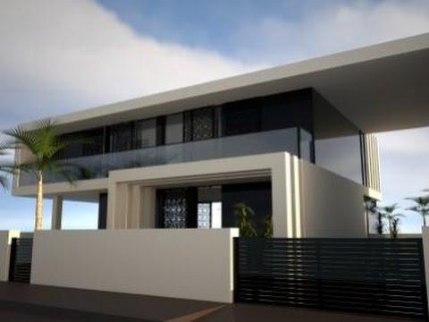 Nouvelle construction top espagne villa moderne avec for Construction villa moderne