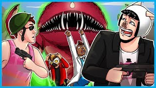 Attack of the Radioactive Thing! - Infinite Warfare Zombies Funny Moments! (Giant Lobster Man!)