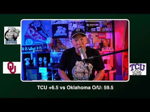TCU vs Oklahoma Free College Football Picks and Predictions CFB Tips Saturday 10/24/20