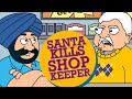 Santa Banta Jokes - Santa kills Shop Keeper | Funny Videos | Official