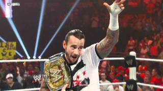 WWE.com Exclusive: CM Punk tells the WWE Universe he