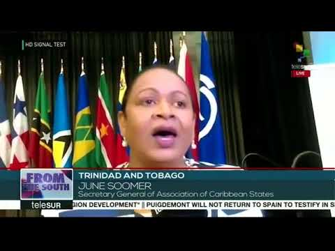 From The South 11-01: Venezuela signs agreements with Trinidad Tobago