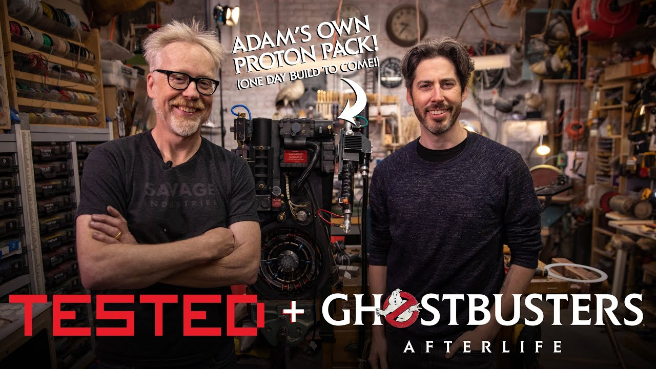 Announcing Adam Savage Behind the Scenes of Ghostbusters: Afterlife!