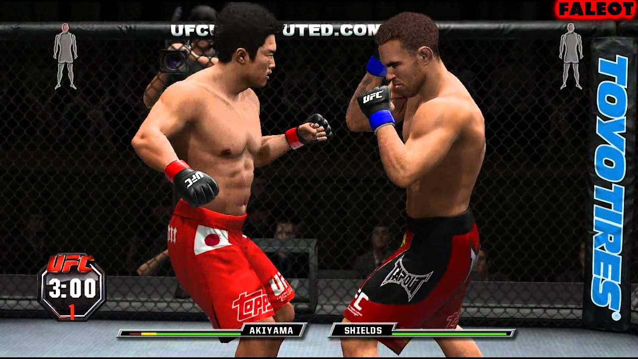 UFC Undisputed 3 Tournament Mode Middleweight Part 1 PS3 ...