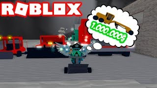A THROWER OF $1,000,000 OF DOLLARS! 💰 - SNOW THROWER ROBLOX SIMULATOR