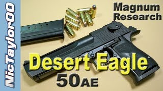 IMI Desert Eagle 50AE Pistol - REVIEW