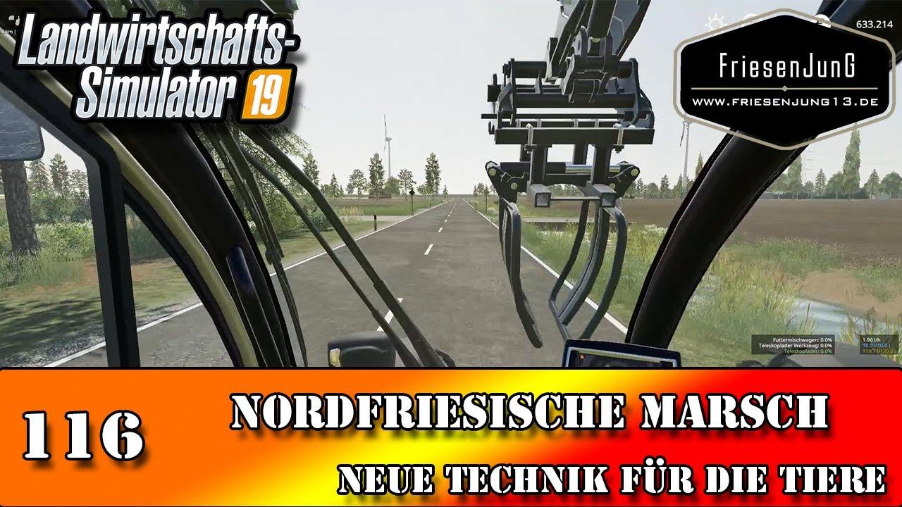 LS19 Nordfriesische Marsch 116 - Neue Technik für die Tiere