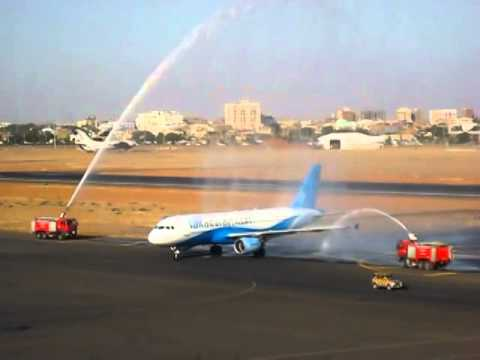 RAK Airways inaugural at Khartoum Airport