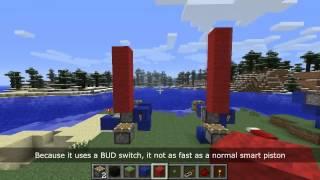 Minecraft - Vertical Smart Piston