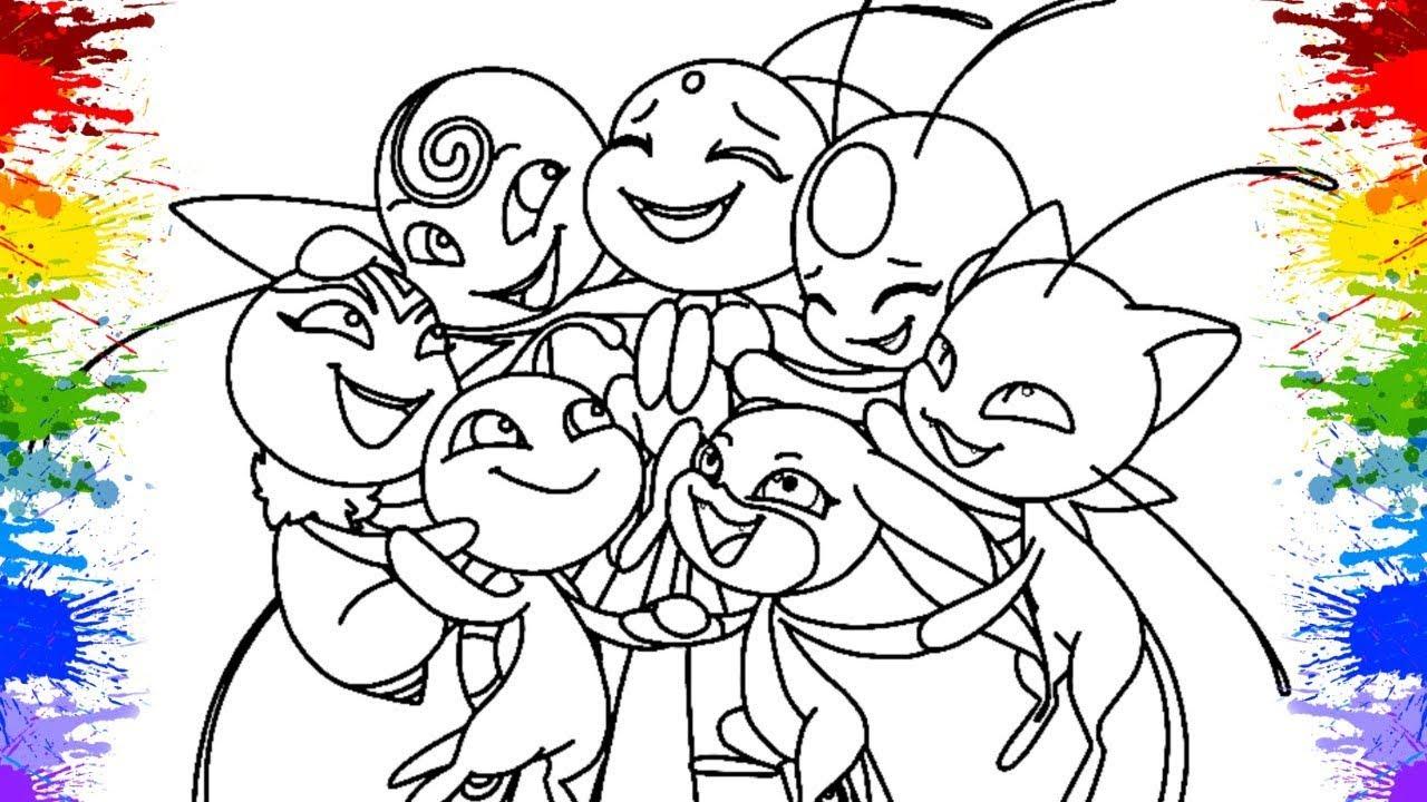 Kwami Miraculous Ladybug 2 Temporada Kids Desenhos Para Colorir