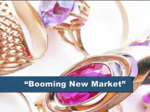 SOVIET GOLD JEWELRY A BOOMING MARKET