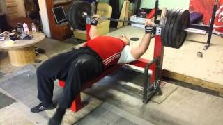 Bench press technique by 3 time IPF super heavyweight Champion