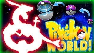GUESS WHAT I CAUGHT! - PIXELMON WORLD! #14 (Minecraft Pokemon Mod)