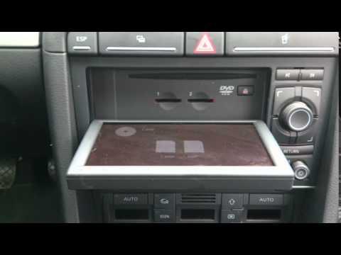 Audi A4 B7 MMI navi audio
