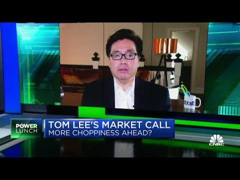 Fundstrat's Tom Lee makes the bullish case for oil and FAANG stocks