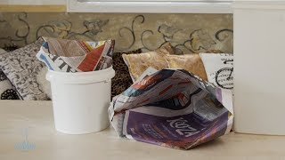 How to Make Environmentally Friendly Rubbish Bin Liners
