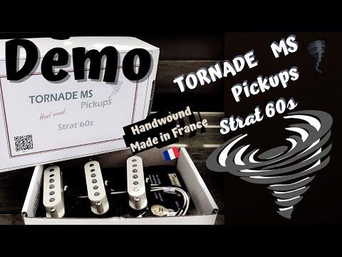Set Strat 60s Tornade MS by Vivien Verdier