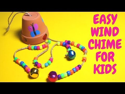 DIY Wind Chime  | Mothers Day Crafts for Kids