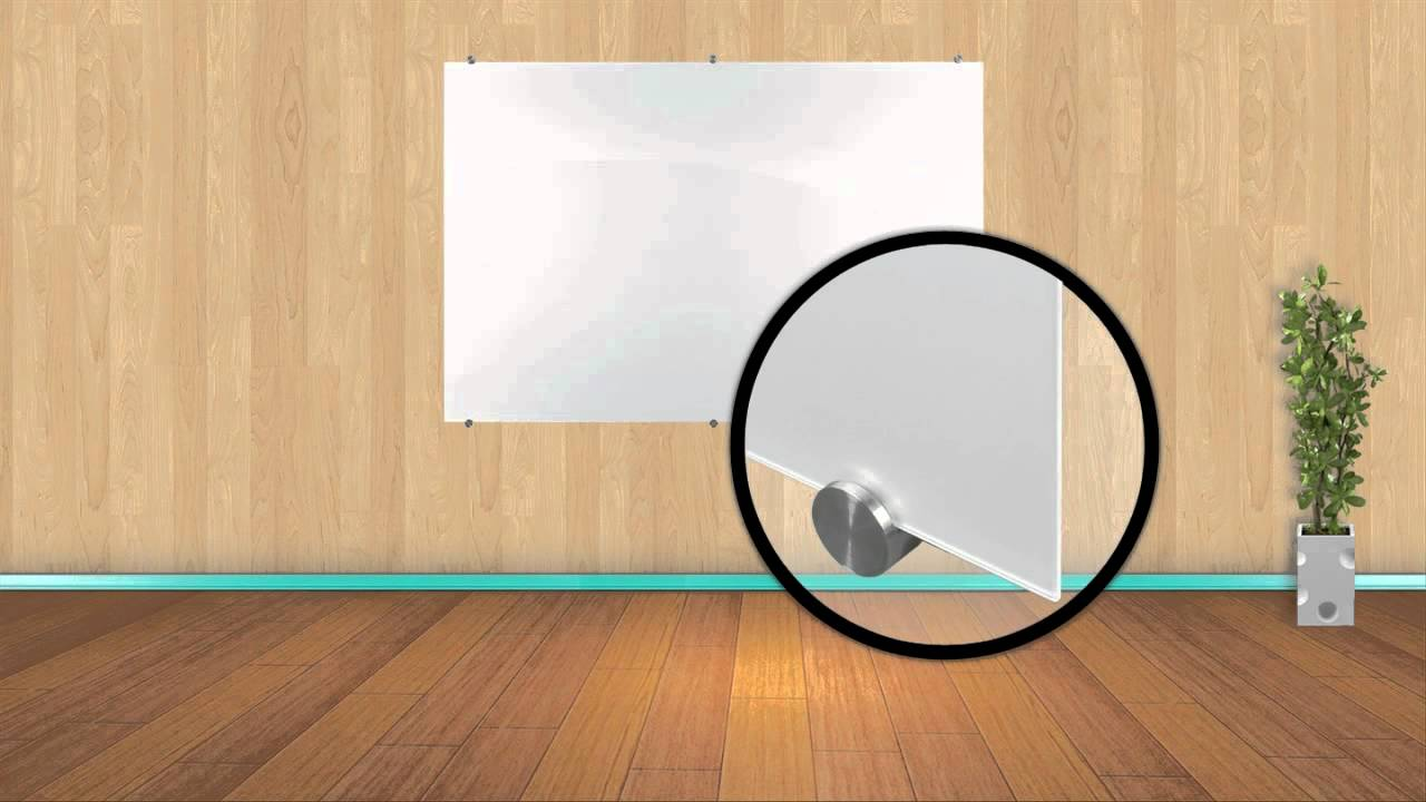 visionary magnetic glass whiteboards youtube. Black Bedroom Furniture Sets. Home Design Ideas