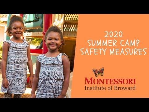 Montessori Institute of Broward 2020 Summer Camp