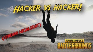 PUBG - This Will Ruin This Game (Hacker v Hacker)