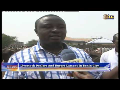 Livestock Dealers And Buyers Lament In Benin City
