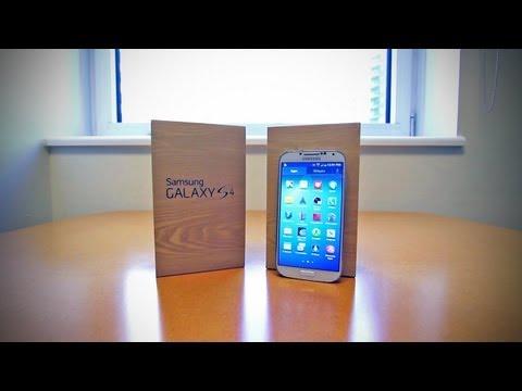 Samsung Galaxy S4 Unboxing (Galaxy S IV)