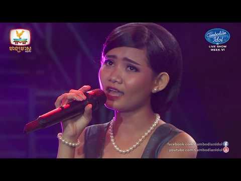 Cambodian Idol Season 3 Live Show Week 6 | Kung Keo Morokot - Som Leng Kmuos Ka