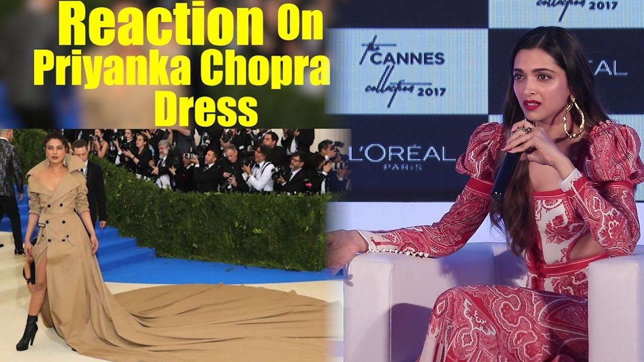 Response to a twitter troll who shamed her for not wearing makeup - Deepika Padukone Reaction On Priyanka Chopra Dress Reaction On Priyanka Chopra Troll On Dress