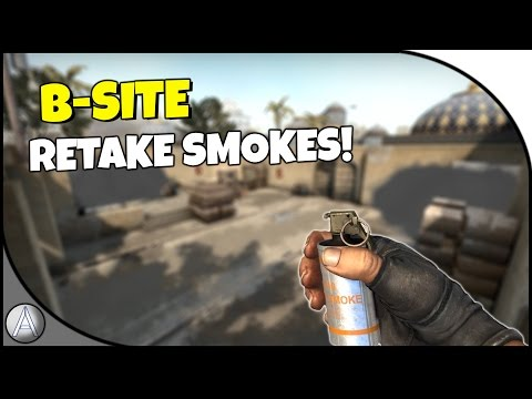 CS:GO - 2 Smokes to help you Retake B Site on Dust II