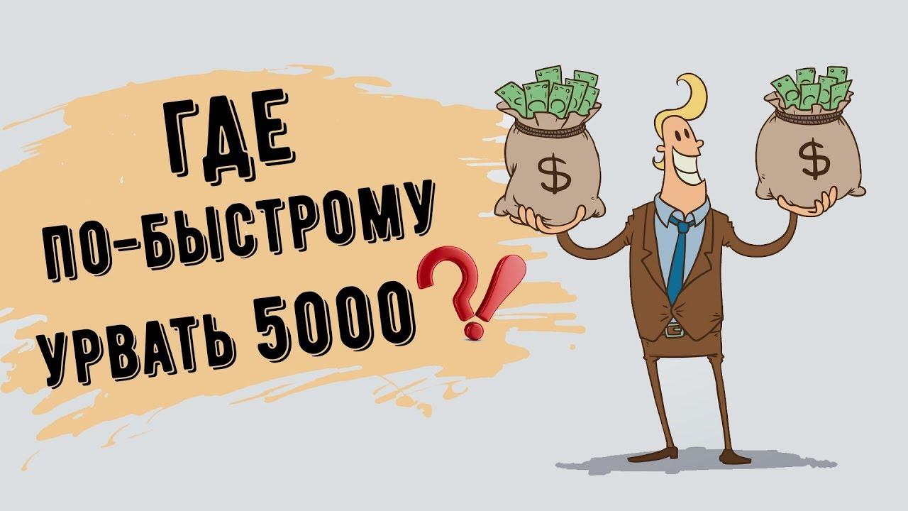 занять 5000 рублей срочно