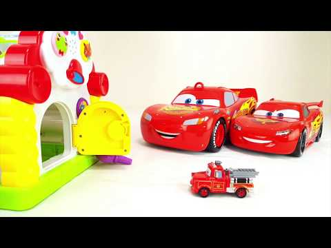Learn Colors for Children Disney Pixar Cars 3 Step into the House Mack Truck McQueen Mater