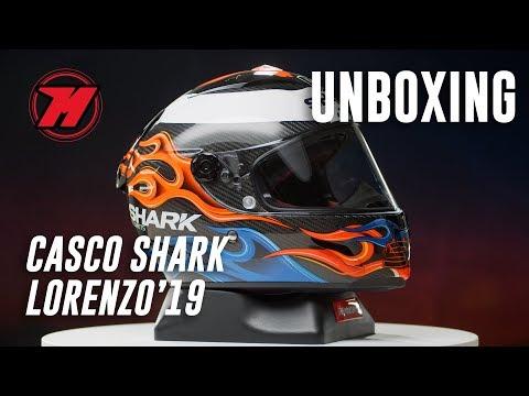 Unboxing Shark Race-R Pro Carbon LORENZO 2019 😎