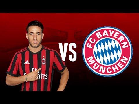 Lucas Biglia VS FC Bayern München   Debut for AC Milan - Friendly Game   18-07-2017   Milan Actu HD