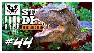 MASSACRE AT JURASSIC JUNCTION | State of Decay Gameplay Part 44 - Year One Survival Walkthrough