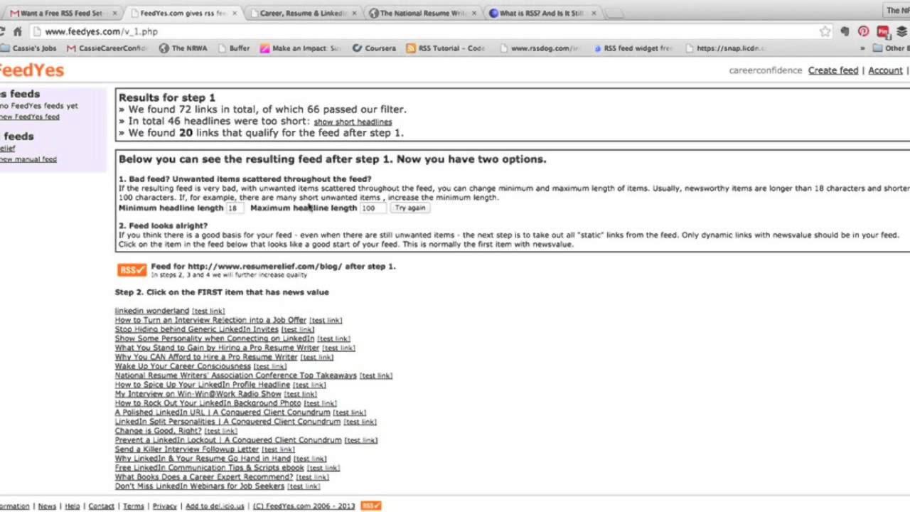 the national résumé writers association article library