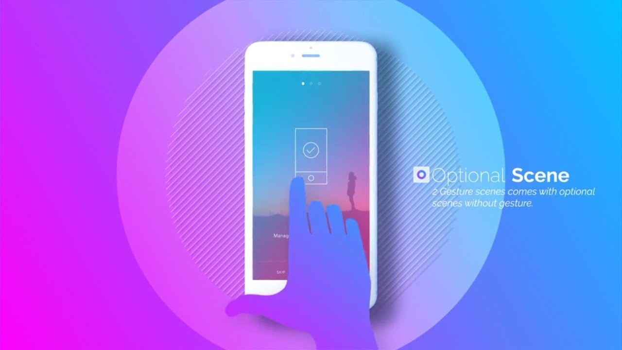 Android App Presentation For Google Play Video Preview After Effects Template